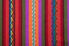 Aguayo安地斯山的织布机 免版税库存图片