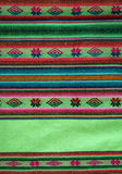 Aguayo andean  loom. Andean weaving loom made in bright colors Royalty Free Stock Photos