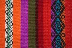 Aguayo andean  loom Stock Photo