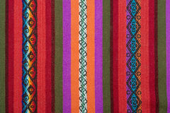 Aguayo andean  loom Royalty Free Stock Images