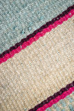Aguayo andean  loom. Andean weaving loom made in bright colors Stock Images