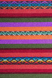 Aguayo andean  loom. Andean weaving loom made in bright colors Royalty Free Stock Photo