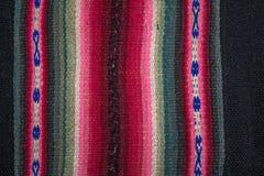 Aguayo andean vävstol Royaltyfri Foto