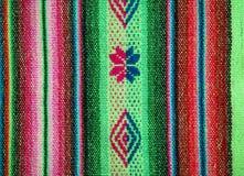 Aguayo andean vävstol Royaltyfri Bild