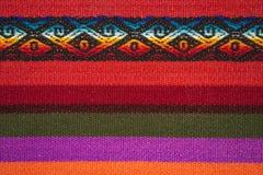 Aguayo andean vävstol Royaltyfri Fotografi