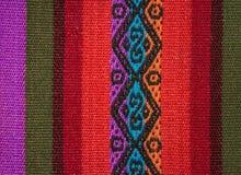 Aguayo andean vävstol Royaltyfria Bilder