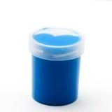 Aguazo azul Imágenes de archivo libres de regalías