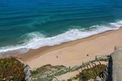 Aguda plaża w Magoito, Portugalia Zdjęcie Royalty Free