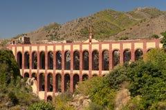 agueduct Nerja stary Spain Zdjęcia Stock