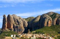 aguero Huesca Hiszpanii Obraz Royalty Free