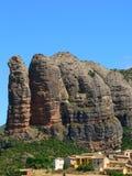 Aguero, Huesca ( Spain ) Stock Image