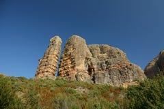 Aguero skały, szerokiego kąta dolny widok Obraz Stock