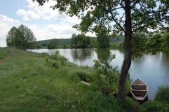 Aguiet rzeka Zdjęcie Royalty Free
