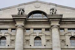 Aguilón de la bolsa, Milano Imagen de archivo