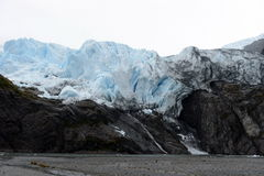 Aguila lodowiec w południowym Patagonia Obrazy Stock