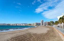 Aguilas Beach Stock Images