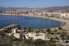 Aguilas - Costa Blanca - Espanha Fotografia de Stock Royalty Free