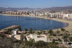 Aguilas - Costa Blanca - Spanje Royalty-vrije Stock Fotografie
