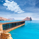 Aguilas Embarcadero el Hornillo pier Murcia Spain Royalty Free Stock Images