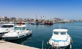 Aguilas harbor. Murcia Province Spain Stock Photos