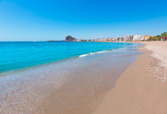 Aguilas Levante beach Murcia in Spain Royalty Free Stock Photography