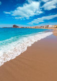 Aguilas Levante beach Murcia in Spain Royalty Free Stock Images