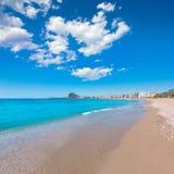 Aguilas Levante plaża Murcia w Hiszpania Fotografia Royalty Free