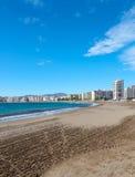 Aguilas plaża Obraz Royalty Free