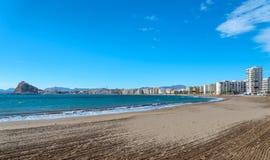 Aguilas plaża Obrazy Royalty Free