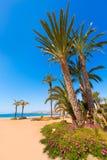 Aguilas Poniente plaża Murcia w Hiszpania Fotografia Royalty Free