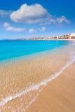 Aguilas Poniente plaża Murcia w Hiszpania Zdjęcie Royalty Free