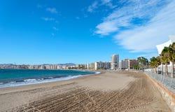Aguilas Strand Stock Afbeeldingen