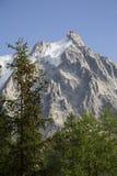 Aguille du Midi Mont Blanc Γαλλία στοκ φωτογραφίες