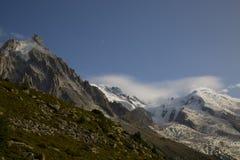 Aguille Du Midi Mont Blanc Francja Obrazy Stock