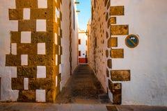 Aguimes miasteczko na wyspie kanaryjska Zdjęcia Royalty Free