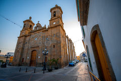 Aguimes town on Canary island Royalty Free Stock Image