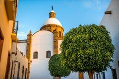 Aguimes town on Canary island Stock Photos