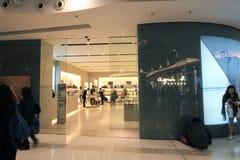 Aguis b shoppar i Hong Kong Arkivbilder