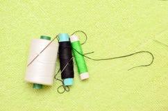 Aguja con cuerdas de rosca Fotografía de archivo