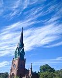 Aguja de la iglesia en Brooklyn Imagen de archivo
