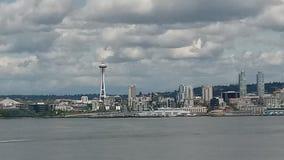 Aguja del espacio de Seattle fotografía de archivo libre de regalías