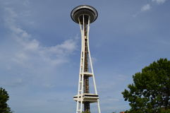 Aguja del espacio de Seattle imagen de archivo