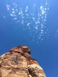 Aguja en el cielo Fotos de archivo