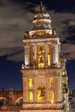 Aguja metropolitana Belces Zocalo Ciudad de México México de la catedral Imagenes de archivo