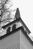 Aguja vieja de la iglesia Fotografía de archivo