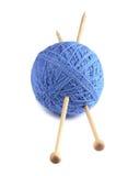 Agujas de las lanas Imagen de archivo libre de regalías
