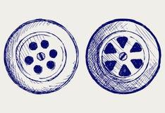 Agujero de dren. Estilo del Doodle Foto de archivo libre de regalías