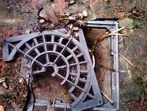 Agujero de drenaje Imagen de archivo libre de regalías