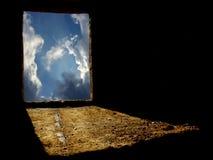 Agujero de la abstracción Imagen de archivo libre de regalías