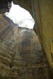 Agujero de la cueva Fotografía de archivo libre de regalías